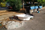 Rifiuti abbandonati, 40 multati a Caltanissetta