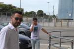 De Zerbi a Palermo, le immagini del suo arrivo allo stadio Barbera - Video