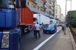 Palermo, in coda per ore in via Crispi: scoppia la protesta dei tir