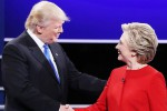 "Show Clinton-Trump in tv: donald ""presidenziale"", l'ex first lady domina su politica estera"