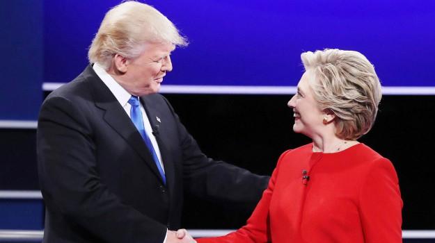 presidenziali, USA, Donald Trump, Hillary Clinton, Sicilia, Mondo