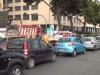 Scontro tra auto e volante della polizia: incidente vicino al porto di Palermo, 3 feriti e traffico in tilt