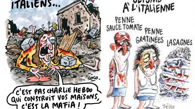 amatrice, Charlie Hebdo, terremoto, Sicilia, Mondo