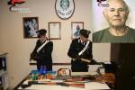 Maxi arsenale in casa, anziano arrestato a Castelvetrano