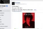 Bob Dylan ammette il Nobel ma la frase sparisce dal suo sito
