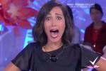 Signore del pubblico preferisce Gerry Scotti a lei, la Balivo urla sconvolta in tv