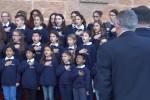 Cerimonia Unesco, a Palermo coro di bimbi immigrati accoglie Mattarella