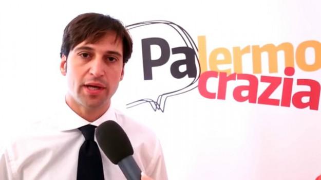 candidato sindaco palermo, comunali 2017, coraggiosi, forza italia, Fabrizio Ferrandelli, Francesco Scoma, Palermo, Politica