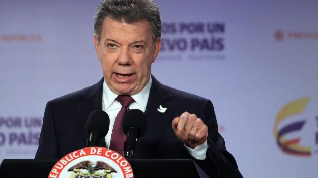 colombia, Nobel, pace, Juan Manuel Santos, Sicilia, Mondo