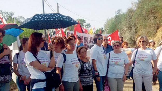 protesta no muos niscemi, Caltanissetta, Cronaca