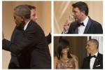 Renzi da Obama, brindisi e risate alla cena di Stato: tutte le foto