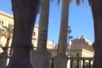 Imbrattato il Palchetto della Musica a Palermo