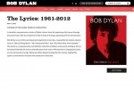 Bob Dylan ammette di aver vinto il premio Nobel sul suo sito web