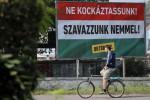 Il referendum in Ungheria sulle quote migranti dell'Ue - Fonte Ansa