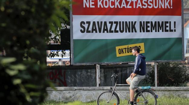 migranti Ue, quote migranti, referendum Ungheria, Sicilia, Mondo