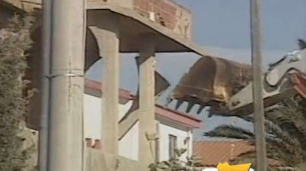 demolizioni, palma di montechiaro, Agrigento, Cronaca