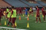 Ripresi gli allenamenti, il Trapani si prepara alla sfida con la Juve Stabia