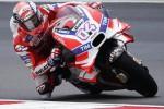 In Malesia pole per Dovizioso, poi Rossi e Lorenzo