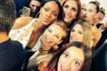 Il selfie di Bebe Vio con Rihanna alla Settimana della Moda a Parigi - Fonte Twitter