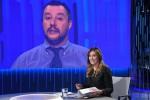 Scintille Boschi-Salvini in tv, poi pace sul Milan