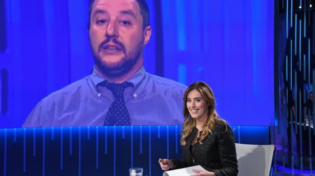 referendum costituzionale, Maria Elena Boschi, Matteo Salvini, Sicilia, Politica