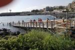 Sole e caldo a Catania, 26 gradi: la gente è al mare