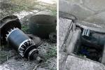 La condotta idrica danneggiata ad Alcamo (Fonte Comune)