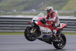 Andrea Dovizioso in sella alla sua Ducati - Fonte Ansa