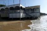 Mareggiate a Eraclea Minoa, persi più di 120 metri di spiaggia - Video
