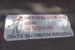 Formazione, nuova protesta degli ex sportellisti Palermo: chiedono incontro con Di Maio