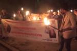 Palermo, una fiaccolata per dire basta al fenomeno della tratta - Video