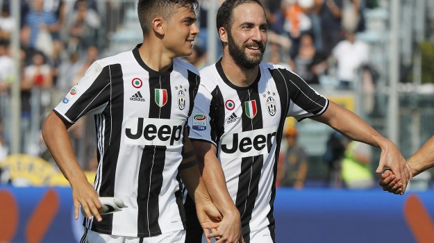 empoli, Juventus, SERIE A, Gonzalo Higuain, Sicilia, Sport