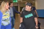Maradona arrivato a Roma, sarà alla Partita della Pace - Foto