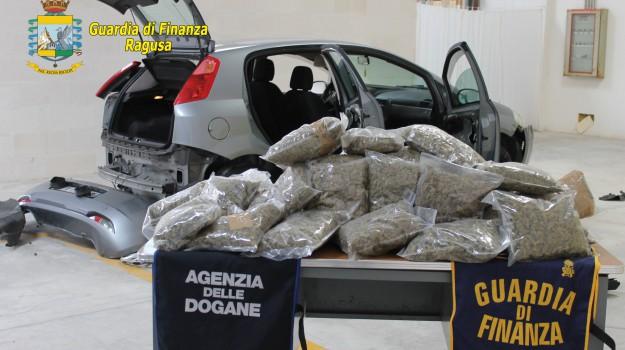 arresto, marijuana, pozzallo, Ragusa, Cronaca