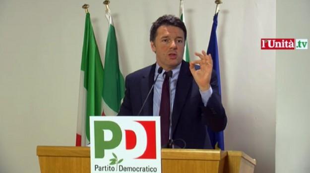 direzione, italicum, pd, referendum, Sicilia, Politica