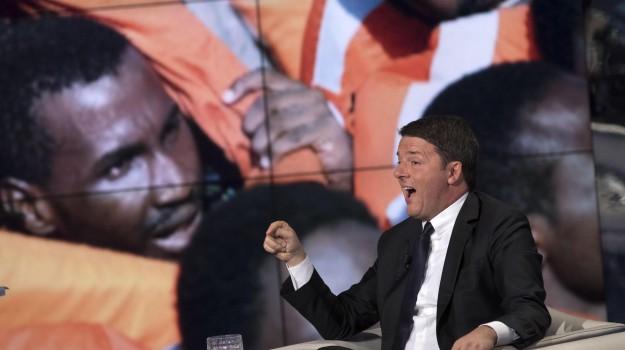 lettera ue, migranti, terremoto, Matteo Renzi, Sicilia, Economia