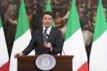Sisma, Renzi: container entro Natale Più personale per ricostruire tutto
