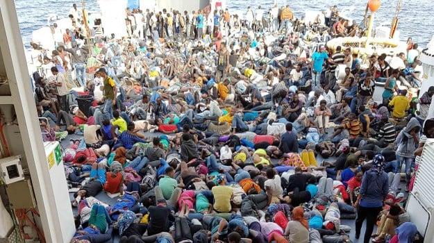 emergenza, messina, sbarco, Messina, Cronaca