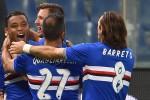 """Muriel scatenato, il """"derby della Lanterna"""" va alla Sampdoria"""
