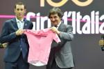 Vincenzo Nibali con il presidente di Rcs Urbano Cairo