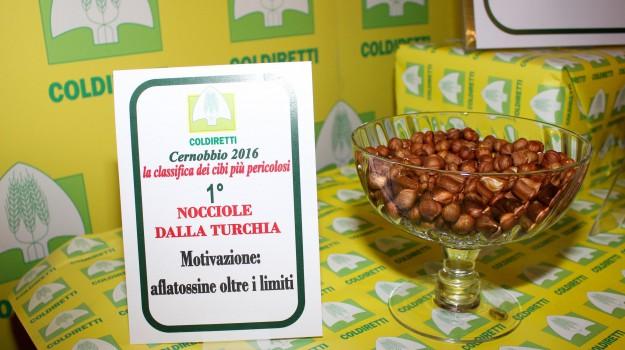 aflatossine, cibi pericolosi, coldiretti, Sicilia, Economia