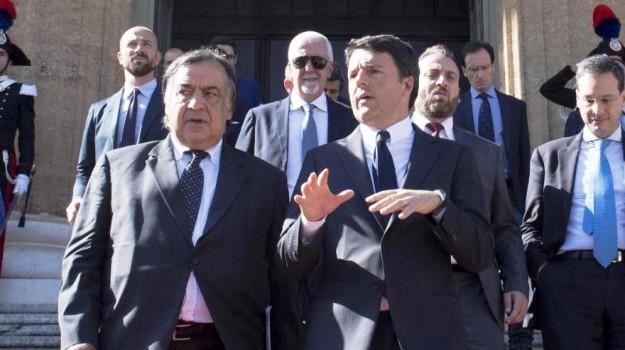 scissione pd, Davide Faraone, Giuseppe Lupo, Matteo Renzi, Rosario Filoramo, Sicilia, Politica