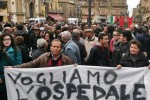 Niscemi, una marcia per difendere l'ospedale e il diritto alla salute