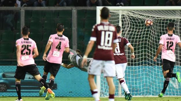 Calcio, Palermo, roma, SERIE A, Palermo, Calcio