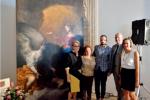 Restaurato «L'Angelo custode» grazie agli «Amici del museo»
