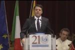 """Renzi a Palermo: """"La Sicilia rottami la rassegnazione"""""""
