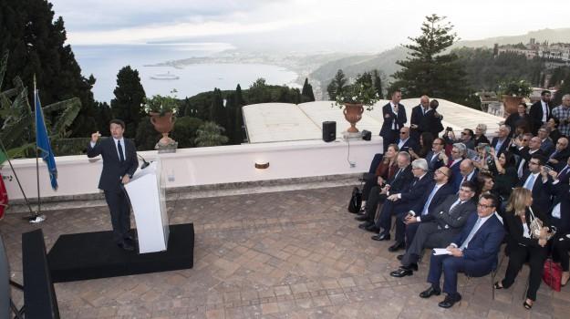 g7 taormina, Matteo Renzi, Messina, Politica