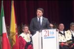 Renzi: Sicilia ha problema di autostima La sfida: accettate la competizione