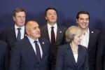 Matteo Renzi a Bruxelles - Fonte Ansa