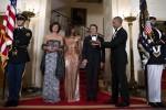 Alla Casa Bianca cena omaggio all'Italia: eleganza e battute tra Renzi e Obama